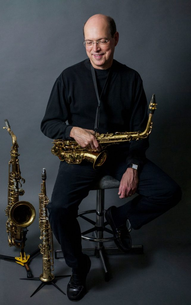 Sam Fagaly, Professor of Saxophone, EIU