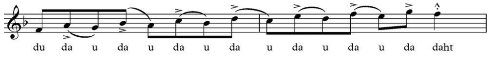 Jazz Articulation Back Accent Tonguing